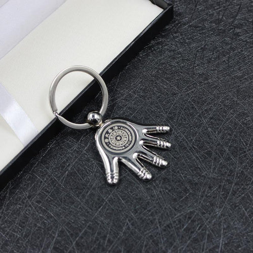 Zinc Alloy Hand Keychain CG Keychains One Dollar Only