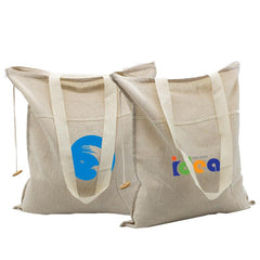 Cotton Tote Bag With Carrying Handles CG Bags One Dollar Only