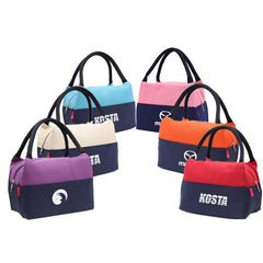 Dual-Coloured Waterproof Canvas Lunch Bag CG Bags One Dollar Only