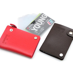 Swivel Card Organiser With PU Leather Cover
