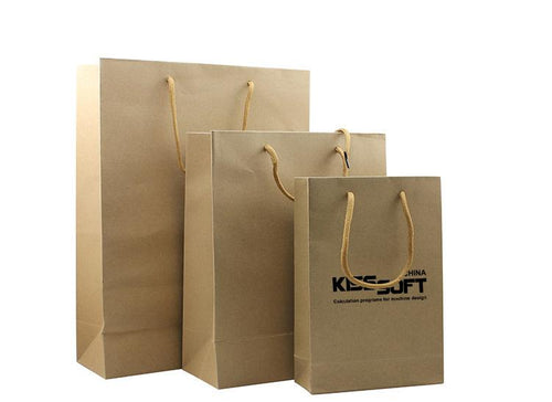 Eco-Friendly Paper Bag (Medium) CG Paper Bags One Dollar Only