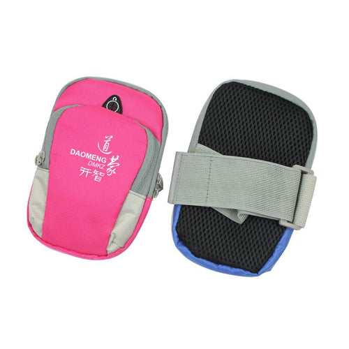 Multifunctional Nylon Phone Pouch For Running And Outdoors Use