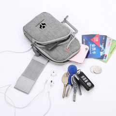 Outdoor Sports Arm Bag with Headphone Hole CG Bags One Dollar Only