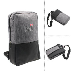 Crossbody Backpack with Wide Shoulder Strap