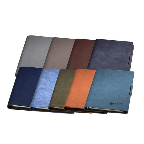 Medium Loose Leaf Business Notebook With Metal Buckle