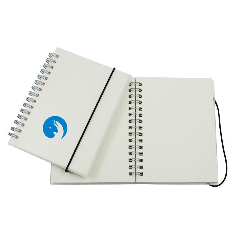 A6 Notebook With Clear Cover And Dot Grid Pages One Dollar Only
