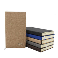 A6 Notebook with Textured Cover