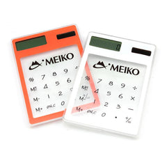 Clear Solar Powered Calculator CG Calculators One Dollar Only