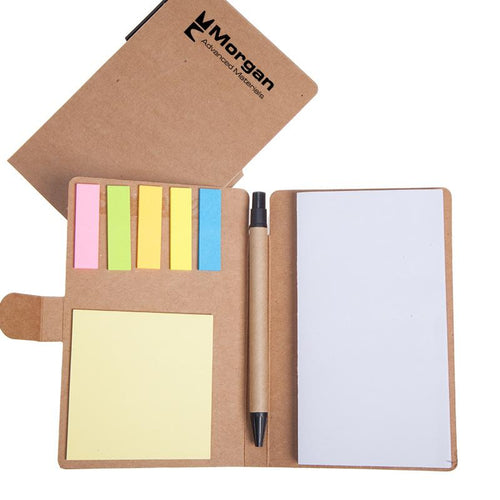 Eco-Friendly Pen And Notepad Set