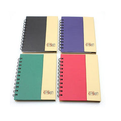 Large Notebook Set With Coloured Cover And Vertical Flap CG Notebooks One Dollar Only