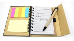 Small Notebook Set With Coloured Cover And Vertical Flap CG Notebooks One Dollar Only