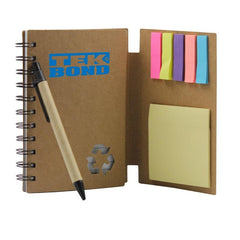 Multifunctional Notepad Set With Kraft Paper Cover CG Notepads One Dollar Only