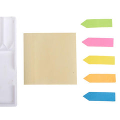Sticky Notes Set In Snap Closure Box