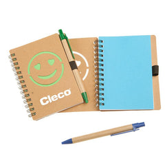 Eco-Friendly Notebook With Smiley Face Design CG Notebooks One Dollar Only