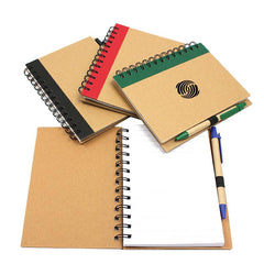Eco-Friendly Notebook With Coloured Left Margin