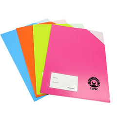 Coloured L-Shaped Document Holder