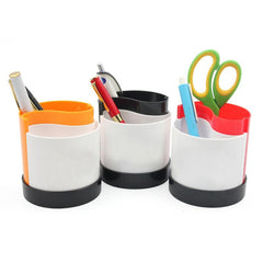 Dual-Coloured Business Pen Holder CG Pen Holders One Dollar Only
