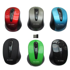 Wireless Mouse With Comfortable Hand Grip
