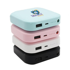 Square Portable Power Bank CG Power Banks One Dollar Only