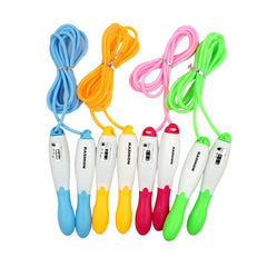Dual-Coloured Skipping Rope With Jump Counter CG Skipping Ropes One Dollar Only