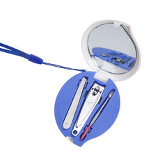 3-Piece Manicure Set In Waterdrop-Shaped Case