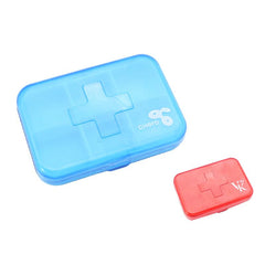 Pill Box With First Aid Logo On Cover