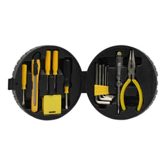 15-Piece Car Tool Kit In Tyre-Shaped Case CG Tool Sets One Dollar Only