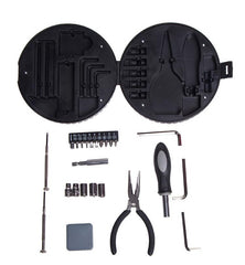 Multi-Tool Set In Tyre-Shaped Case CG Tool Sets One Dollar Only
