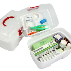 Medium First Aid Kit With Clear Cover