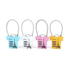 Shirt-Shaped Luggage Lock