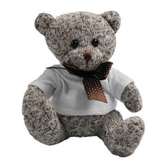 16cm Colourful Knitted Teddy Bear Plush Toy