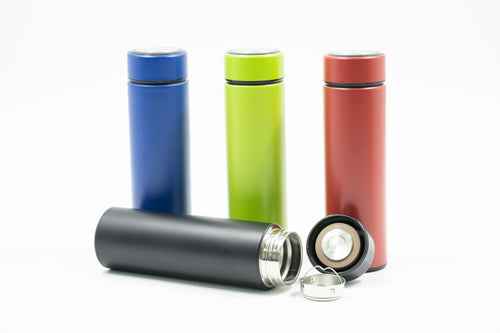 Matte Stainless Steel Thermos Bottle