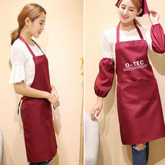 Neckband Apron With Front Pocket CG Apron One Dollar Only