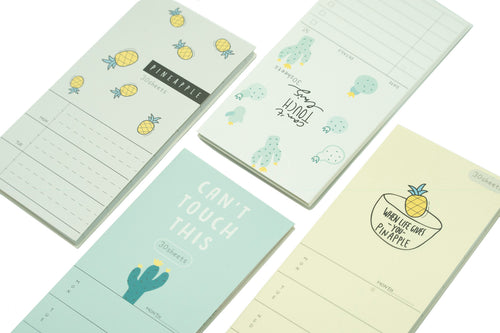 Novelty To-do Notepad Notebooks One Dollar Only