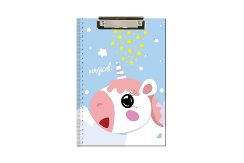 A4 Unicorn Theme Clip Folder Files and Folders One Dollar Only