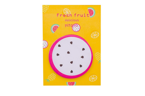 Fresh Fruit Theme Memo Pad Post-it One Dollar Only