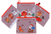 Christmas Theme A5 Zip Case Seasonal One Dollar Only