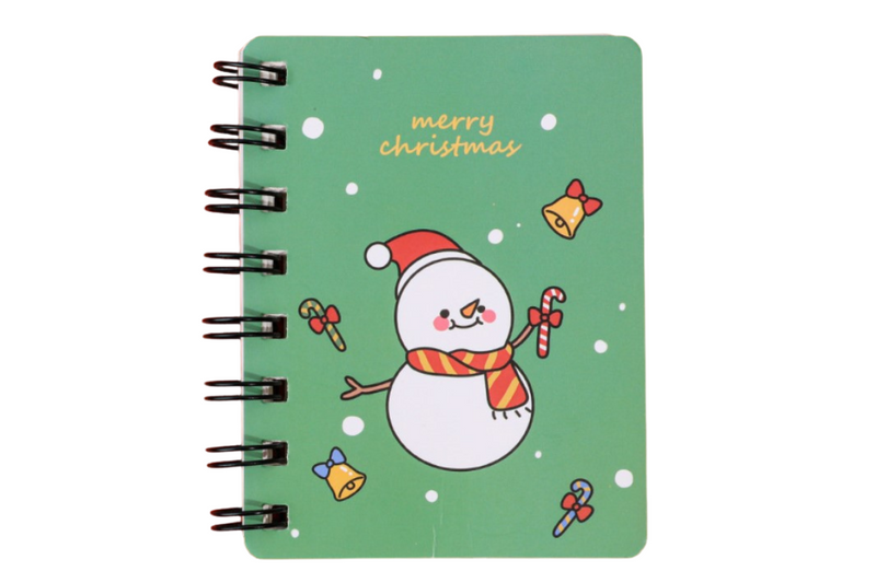 Christmas Theme Ring Notebook Seasonal One Dollar Only