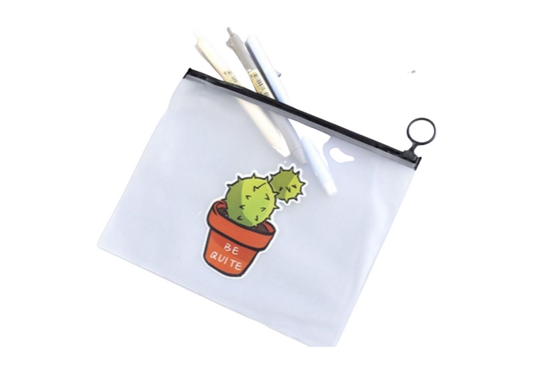 Cactus Plant Design Zip Case CASES One Dollar Only