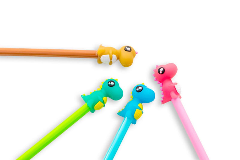 Colorful Little Dinosaur Gel Ink Pen Pens One Dollar Only
