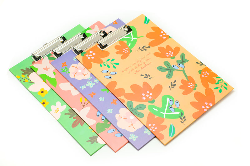 Floral Design Quote Clipboard FILES FOLDERS One Dollar Only