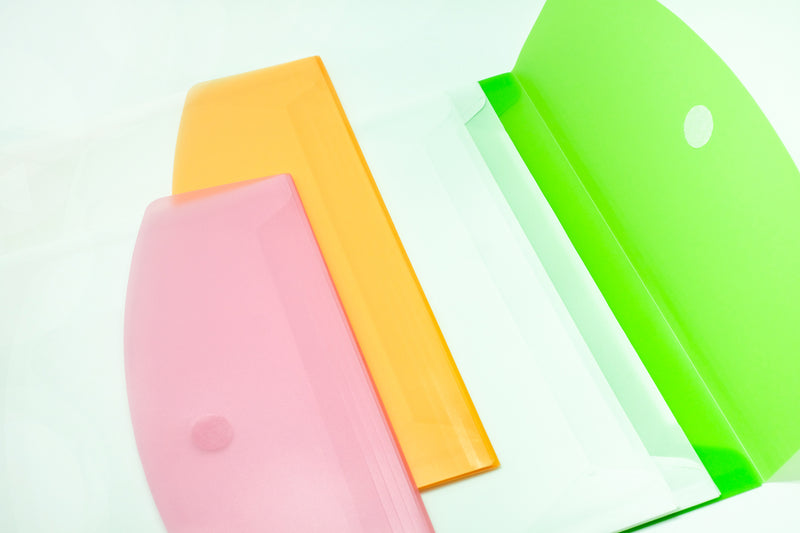 3 Compartment Expandable Plastic Folder (A4) Files and Folders One Dollar Only
