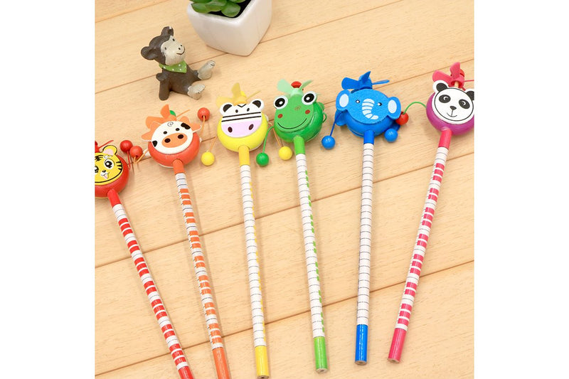 Rattle Toy Animal Theme Pencil Pencils One Dollar Only