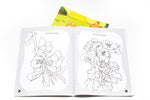 Animals and Plants Colouring Book Colouring Materials One Dollar Only