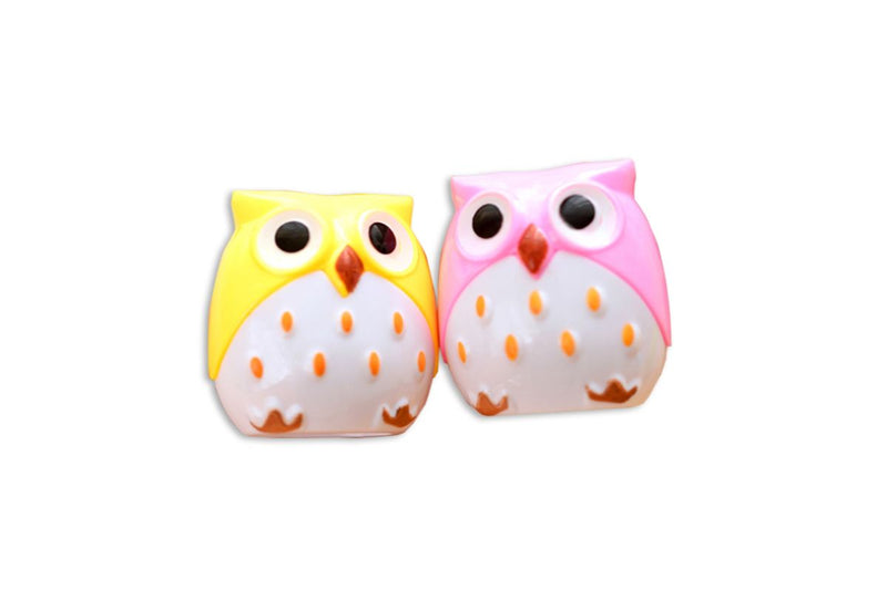 Cute Owl Shaped Pencil Sharpener Everyday Stationery One Dollar Only
