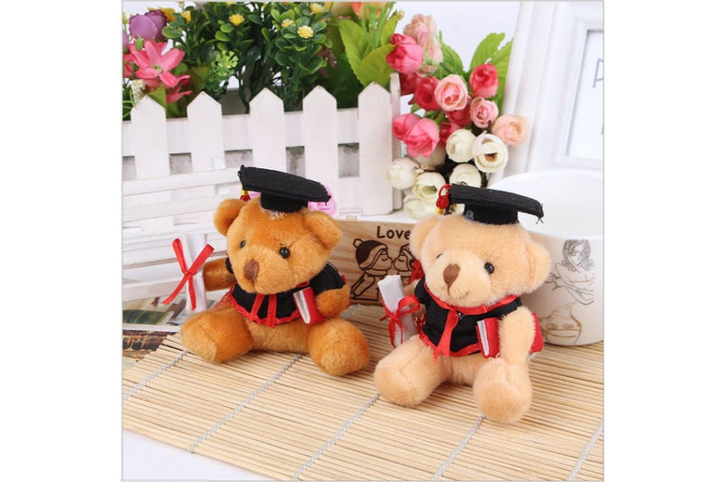 Graduation Bear with Hat Keychain Gift Ideas and Novelties One Dollar Only