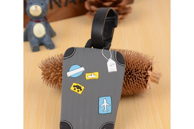 Suitcase Theme Luggage Tag KEY CHAINS / LUGGAGE TAG One Dollar Only