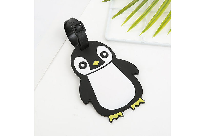 Cute Penguin Animal Design Luggage Tag Key Chains One Dollar Only