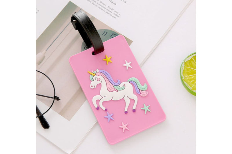 Cute Mythical Unicorn Theme Luggage Tag KEY CHAINS / LUGGAGE TAG One Dollar Only