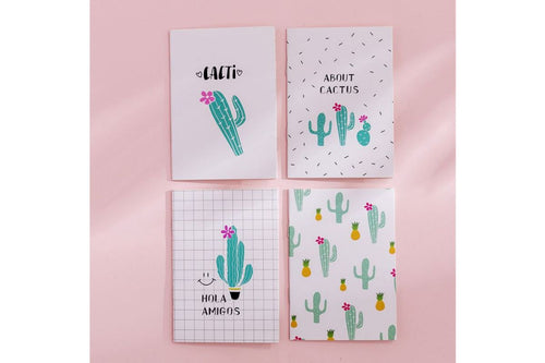 Cactus Design Small Notebook Notebooks One Dollar Only